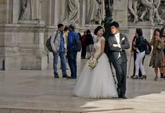 Marriage (Américo Aperta) Tags: paris france de europa europe raw eu frança marriage f casamento grooms brideandgroom ue parisopera ópera noivos opéradeparis noivaenoivo panasonicdmcgf1 américoaperta p1110792