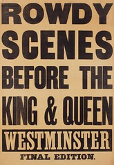 Suffrage in the press: Rowdy Scenes Before the King & Queenc.1914