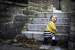 Yellow Sweater (CooT46) Tags: autumn portrait ontario canada cute fall love beautiful beauty leaves childhood yellow stairs burlington canon riley 50mm sweater kid child outdoor gorgeous innocent adorable canadian ef50mmf14 niece blonde 50mmf14 palettamansion abigfave abigfav canoncanada canon5dmarkiii 5d3 5dmarkiii 5dm3 canon5d3 canon5dm3