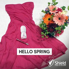Celebrate Spring with Shield Confidence (shieldsouthafrica) Tags: odour excessivesweating sweatsolutions womensdeodorant