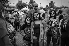 DOD-06905 (m.r. nelson) Tags: arizona bw usa southwest monochrome portraits dayofthedead blackwhite az artphotography mrnelson marknelson markinaz diadelosmuertosphoenix díadelosmuertosfestivalphx2015