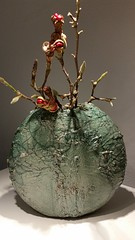 Vase 2015 (bluespok) Tags: art clay copper raku keramik kupfer gefss