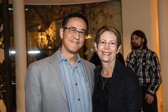 LACO board member Ray Lowe and Ann Lowe