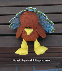 PATCH5303-Pavo-Turkey-SweetBriarSisters-22-11-2015 (Silvia LGD (Little Green Doll)) Tags: thanksgiving turkey handmade crafts softie softies thanksgivingday muñeco patchwork pavo hechoamano accióndegracias sweetbriarsisters tullytheturkey