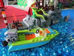 IMG_8027 (LUG Festibriques) Tags: montagne dragon lego exposition fantasy nancy hotdogs caverne fantastique 2015 scoubidou festibriques ludibriques