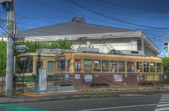 Tramcars at Hiroshima on OCT 28, 2015 (4) (wakkanai097) Tags: japan nikon october hiroshima hdr p7700