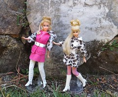 WILD 'N WINTERY (ModBarbieLover) Tags: hair 1971 pretty barbie 1970 francie growin