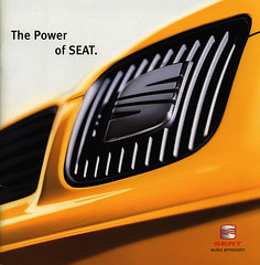 Seat - The Power of Seat. 2001 (World Travel Library) Tags: world auto 2001 travel cars car by ads drive photo model automobile power ride image photos library seat go wheels transport models picture automotive center literature photograph papers vehicle motor makes collectible collectors sales brochures catalogue  documents fahrzeug frontcover motoring wagen automobil  prospekt dokument katalog worldcars worldtravellib