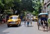 los 2 taxias de calcuta (matiasleturiaphotos) Tags: india calcuta agosto2012