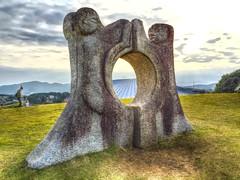 (MIREILLE美麗) Tags: sculpture art japan stone museum publicart kasama