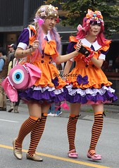 halloween parade 2015 (Discreet *(: [ )) Tags: street halloween st vancouver canon lens 50mm prime photo granville mark parade ii 7d f18 photograhy discreet 2015