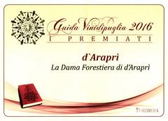 d'Arapr e Vini di Puglia (Sparkling Wines of Puglia) Tags: spumante pergamena metodoclassico tirsomedia vinidipuglia guidavini ladamaforestiera
