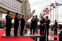Unveiling Ceremony (United Nations Information Service Vienna) Tags: secretarygeneral unitednations viennainternationalcentre