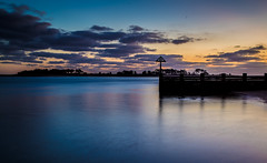 Calm Reflections (jammo s) Tags: sea reflection northsea northnorfolk wells wellsnextthesea morning sunrise dawn calm lightroom canoneos6d canonef24105mmf4lusm