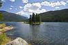Monarch Lake Island (EnviroTrekker) Tags: monarchlake indianpeakswilderness mountains hike water summer island grandlake co colorado