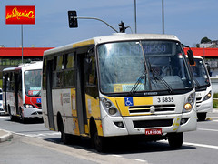 3 5835 Qualibus Qualidade em Transportes (busManíaCo) Tags: busmaníaco nikond3100 ônibus leste amarelo vermelho branco prata caio foz volkswagen 9160 od euro v qualibus qualidade em transportes