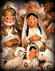 NATIVITY (marsha*morningstar) Tags: christmasangels christmas nativity angel christ child sheep wise men gold and white holy halo