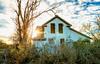 Vacant (KPortin) Tags: vandalism abandoned abandonedhouse easternwashington sunstar clouds