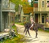 I just blew in from the Windy City... (rubyblossom.) Tags: rubyswaxlyrical challeng no50 calamity jane windy city doris day town western horse people dog asleep morning glorys flowers rubyblossom rubystreasures 2017 deadwood
