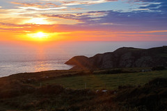 Those Magnificent Sunsets (From Elsewhere) Tags: pembrokeshire wales sunset countryside water boat uk travel coast walk heather trek village villagelife buildings cathedral stdavids fishingboat