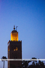 Koutoubia Mosque - Marrakesh, Morocco (Naomi Rahim (thanks for 3 million visits)) Tags: marrakesh marrakech morocco africa northafrica 2016 المملكةالمغربية مراكش travel travelphotography nikon nikond7200 wanderlust night market lowlight koutoubiamosque mosque tower tour illuminated architecture bluehour magichour
