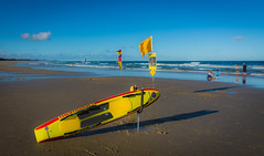 Rescue Ready (Scottmh) Tags: 2017 australia nikon beach coolum d7100 life queensland savers summer sun surf water waves