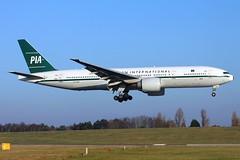 AP-BMG_BHX_201216_KN_280 (JakTrax@MAN) Tags: apbmg pia pakistan international airlines boeing 777 777200 bhx egbb birmingham retro