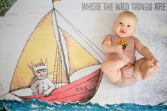Milo at 5 Months (donnierayjones) Tags: 5mo baby boy wild thing things boat max sail wherethewildthingsare toes feet hold holding smile