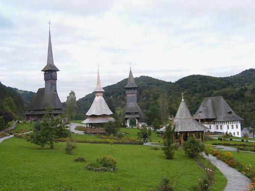 Barcánfalva, Új kolostor