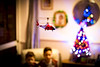 Boys and their toys (132of365) (Reckless Times) Tags: boys toys boy toy drone for kids helicopter remote control bokeh christmas tree home family house inside indoors nikond750 nikon d750 project 365