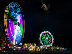 Local Carnival by the Sea @ The Entrance NSW Australia (Laith Stevens Photography) Tags: longexposure ngc night nsw clouds cool color colour central coast centralcoast carnival fair ride ferris wheel attraction holiday vacation australia abstract awesome all olympus omd olympusinspired omdem1 outdoor olympusomd getolympus 714mm f28 pro lights light landscape lens lake love life