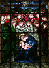 Born the King of Angels (Lawrence OP) Tags: biblical nativity christmas jesuschrist blessedvirginmary stjoseph burnejones angels star stainedglass window winchester cathedral