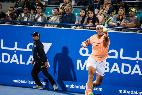 "Rafael Nadal struggles to return Milos Raonic's Service • <a style=""font-size:0.8em;"" href=""http://www.flickr.com/photos/125636673@N08/31873174101/"" target=""_blank"">View on Flickr</a>"