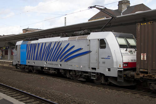 BR 186 106 Railpool Koblenz Hbf