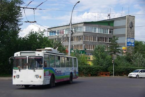 Irkutsk trolleybus VMZ-170 259 ©  trolleway
