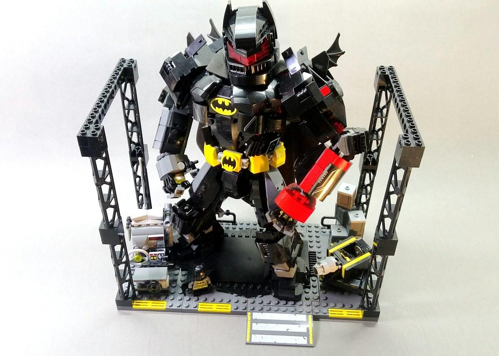 lego joker robot instructions