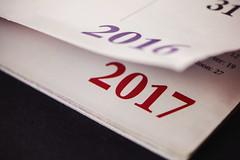 #MacroMondays #corner #HMM (BSchwend1) Tags: macromondays corner happynewyear 2017 calendar page macro