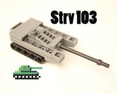 STRW 103 lego micro tank (mrripleyx) Tags: lego micro tank