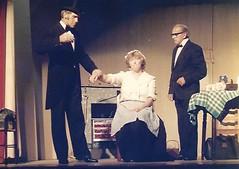 Photo of Michael Players 1987 - Bert Quayle + Ann Corlett + Norman Barron