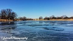 Wilson Lake At Winter (JacobDB98) Tags: colorful iowanature scenery trees winter frozenlake frozen lake iphonephoto nature iowa