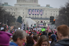 """""""IN-DI-VI-SI-BLE"""" (railsnroots) Tags: demonstrations first amendment womens march protest signs"""