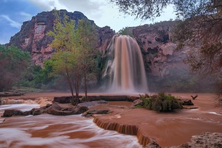 *Havasu Falls @ muddy water*