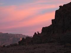 Chad Tibesti frosty morning -1° (ursulazrich) Tags: tschad chad ciad tchad sahara tibesti afrika africa afrique rocks mountains aozi sunrise dawn clouds wolken