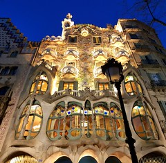 ABM (Another Blue Monday) / Casa Battló, Barcelona, Spain (Frans.Sellies) Tags: 201702170718012stitch barcelona spain catalonia catalunya