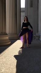 Slow Motion Ballet Jump ((Jessica)) Tags: iphone iphone6s slowmo slowmotion ballet boston dancer midair pointe portrait balletdancer midjump jump