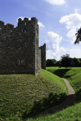 Framlingham Castle, Suffolk (Paul E. Dyer) Tags: uk greatbritain travel summer england holiday building tower castle english heritage history castles tourism monument stone wall architecture buildings square outdoors suffolk nikon ruins holidays unitedkingdom britain outdoor towers ruin property historic east bailey ramparts gb walls geography 1855mm fortification fortifications moat defence defences eastanglia anglia antiquity rampart framlingham fortified 2014 englishheritage f3556 nikor d3200 180550mmf3556vr
