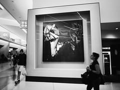 (azlyn_z) Tags: blackwhite airport frame blury
