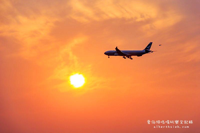 桃園蘆竹賞飛機