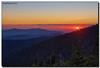 Mountain Sunset (Fraggle Red) Tags: trees sunset summer sun mountains clouds evening nationalpark northcarolina hills smokies hdr smokymountains clingmansdome greatsmokymountains greatsmokymountainsnationalpark highestpoint canonef24105mmf4lisusm 7exp 6643feet dphdr canoneos5dmarkiii 5d3 5diii adobephotoshopcs6 adobelightroom5