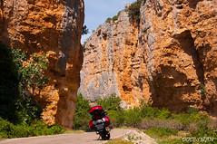 Hoces del Rio Mesa (DOCESMAN) Tags: travel viaje bike honda canyon moto motorcycle motor hoces deauville motorrad cañon motorcykel desfiladero riomesa moottoripyörä congosto motocykel motorkerékpár jaraba nt700v algardemesa ntv700 docesman mototsikl danidoces